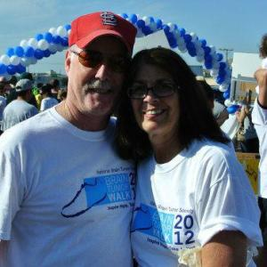The Parental Units at the 2012 Brain Tumor Walk
