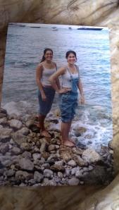 17. on a beach in Italy