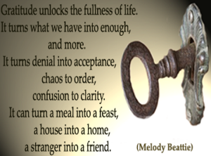 gratitude-is-the-key